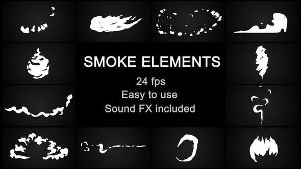 Thumbnail for Flash FX Cartoon Smoke
