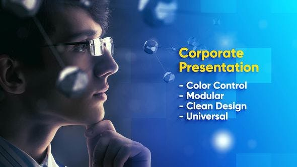 Thumbnail for Modern Corporate Video Presentation