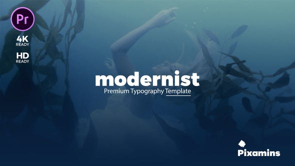 Cover Image for Modernist Premium Typography | Essential Graphics | Mogrt