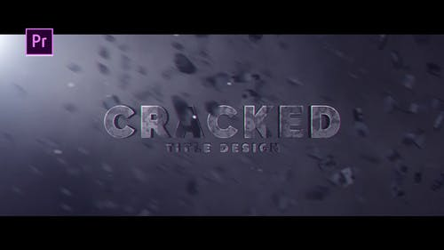 Cracked Title Design
