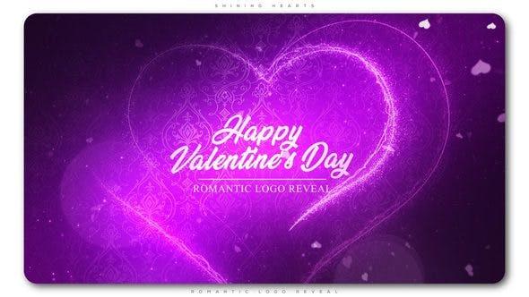 Thumbnail for Shining Hearts Romantic Logo Reveal