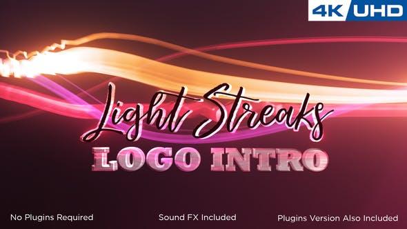 Thumbnail for Light Streaks Logo Intro