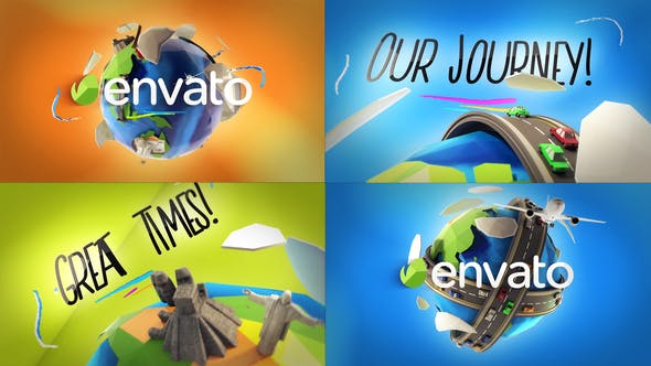 Thumbnail for Travel Logo Reveals