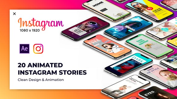 Thumbnail for Instagram Stories Package 2