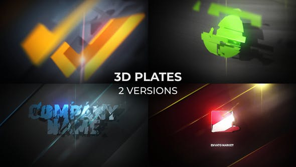 Cover Image for 3D Plates Logo