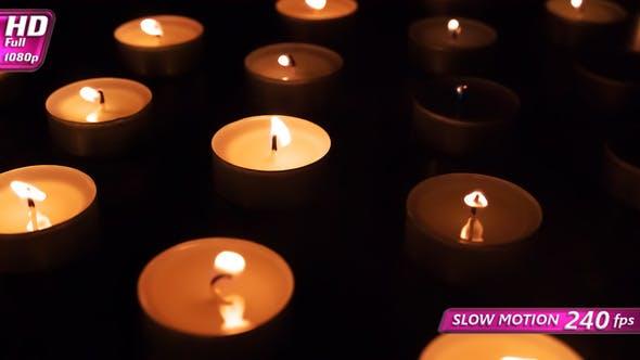 Thumbnail for Candles Gradually Ignite Spontaneously