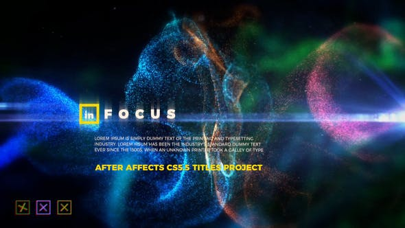 Thumbnail for In Focus - Particle Titles