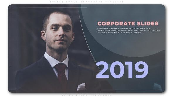 Cover Image for Circle Style Corporate Timeline