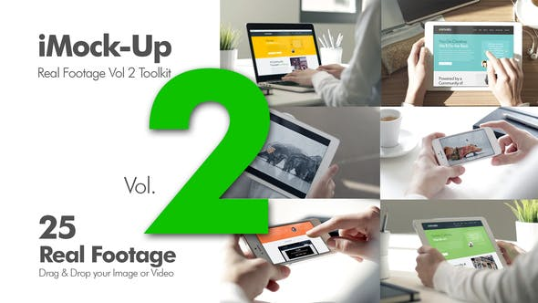 Thumbnail for iMock-Up Real Footage Vol 2