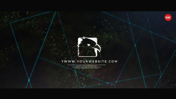 Glitch Logo Animation