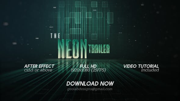 Cover Image for The Neon Trailer