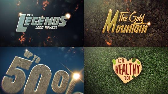 Thumbnail for Legendary Logo Reveal Multipurpose