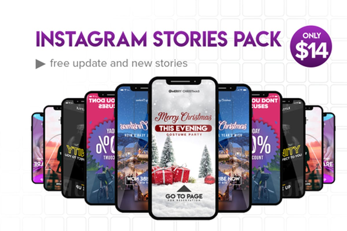 Instagram Stories Pack No  1 by Atamotion on Envato Elements