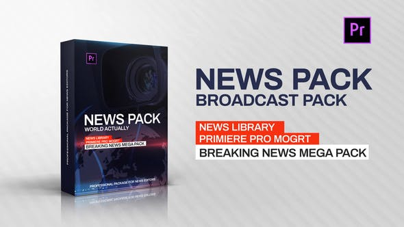 Thumbnail for News Library - Broadcast Pack
