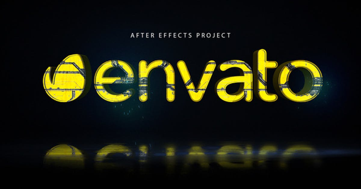 Download Cyber Glitch Logo by elmake
