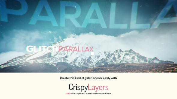 Thumbnail for Glitch Parallax Video Opener