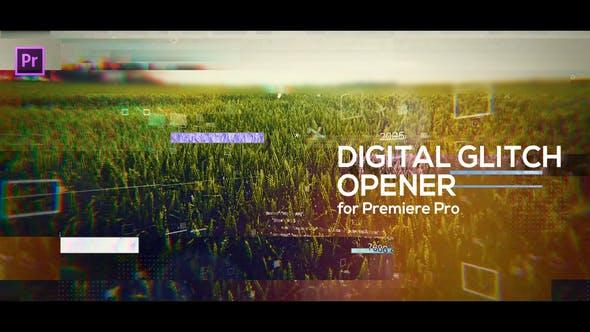 Thumbnail for Abridor digital Glitch para Premiere Pro