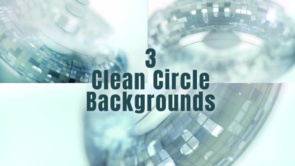Cover Image for Clean Circle Background