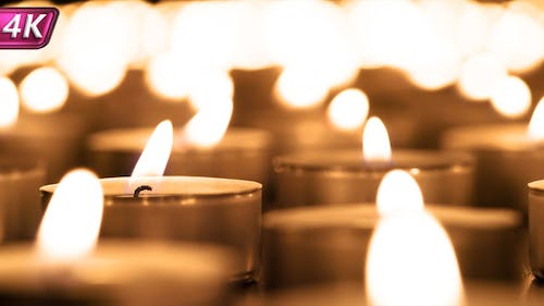 Slow Swaying Candle Lights