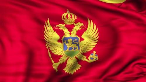 Montenegro Flagge