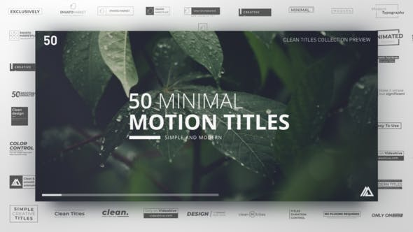 Thumbnail for Minimal Titles Collection