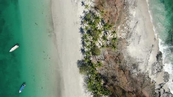 Thumbnail for Virgin Unspoiled Caribbean Tropical White Sandy Beach