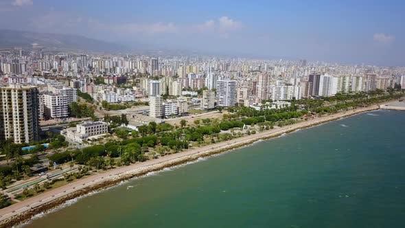 Thumbnail for Cityscape View Apartment Building in Mersin City, Mediterranean Coast, Turkey