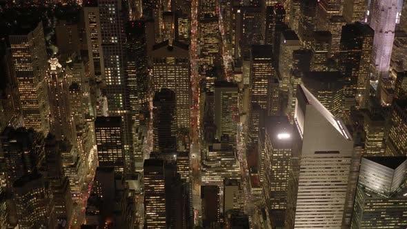 Thumbnail for Aufstellung von Gebäuden der modernen Stadt Skyline in New York