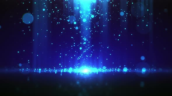 Magic Particle Background