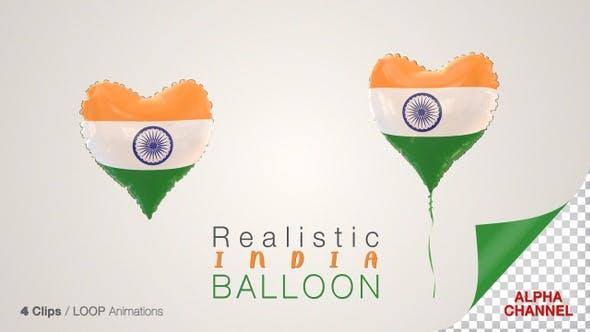 İndia Heart Shape Balloons