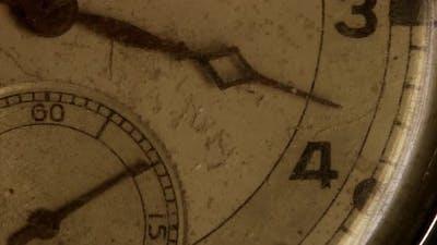 cinematic old historical nostalgic clock