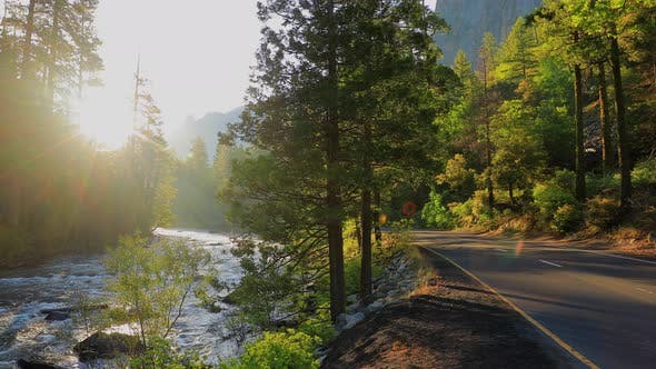 Thumbnail for Beautiful Morning In Yosemite National Park