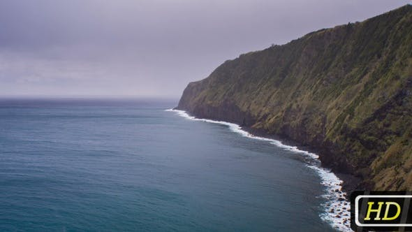 Thumbnail for Atlantic Ocean Coastline on Azores Islands