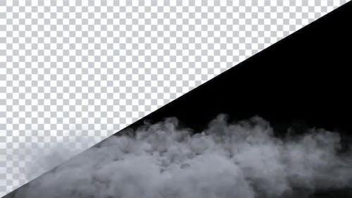 Boucle d'éclatement de fumée