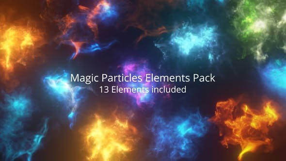 Thumbnail for Magic Particles Elements Pack