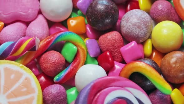 Thumbnail for Variety of Sweets Lollipops Candy Marshmallows