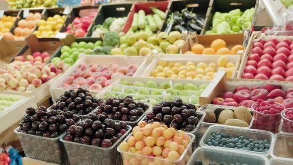 Thumbnail for Fresh Produce for Sale at Market