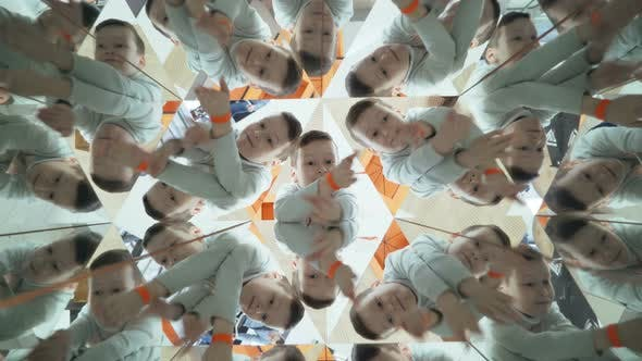 Thumbnail for Child in a Kaleidoscope Tunnel