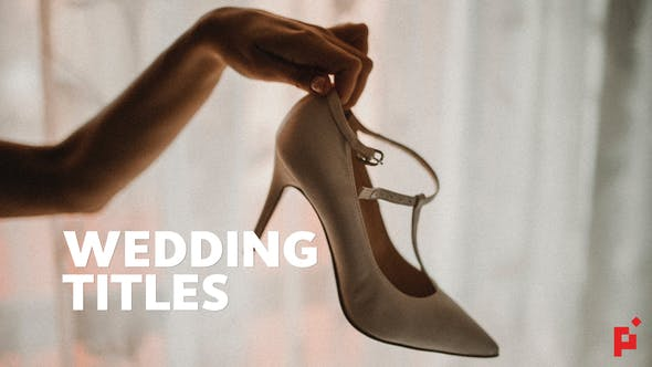 Thumbnail for 50 Wedding Titles | Essential Graphics | Mogrt