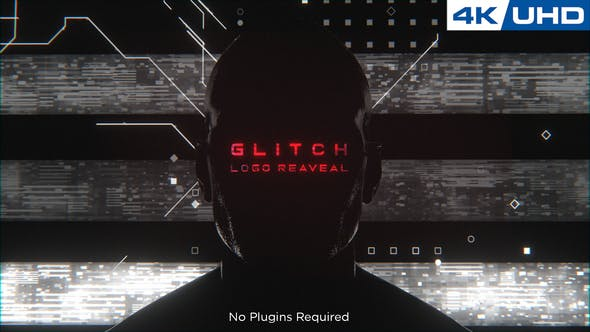 Thumbnail for Glitchy Human Logo enthüllen
