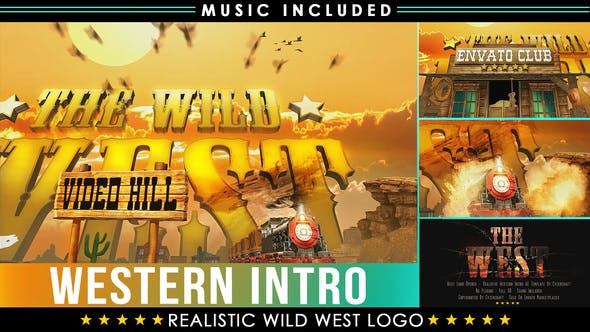 Thumbnail for Western Logo | West Cowboy Intro