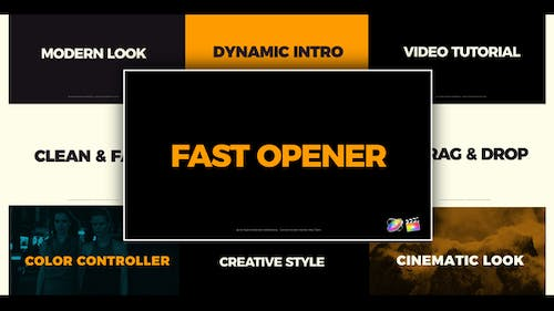 Clean Fast Opener FCPX