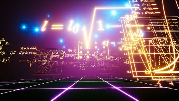 Thumbnail for Glowing Math Formulas