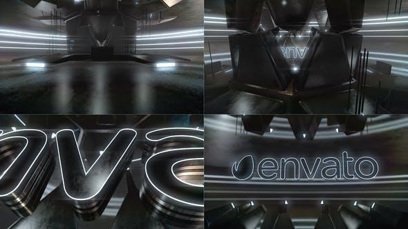 Cover Image for Cyber Dark Neon Logo Reveal