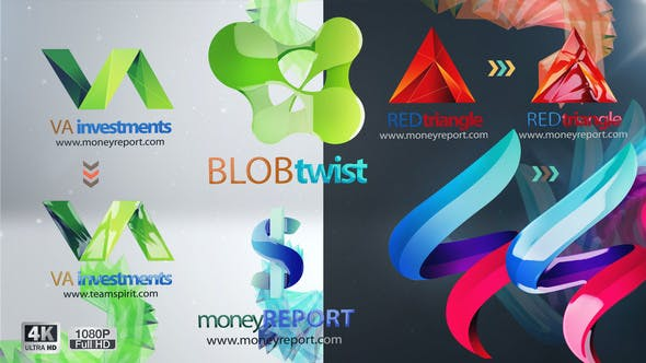 Minimal Corporate Logo Reveal