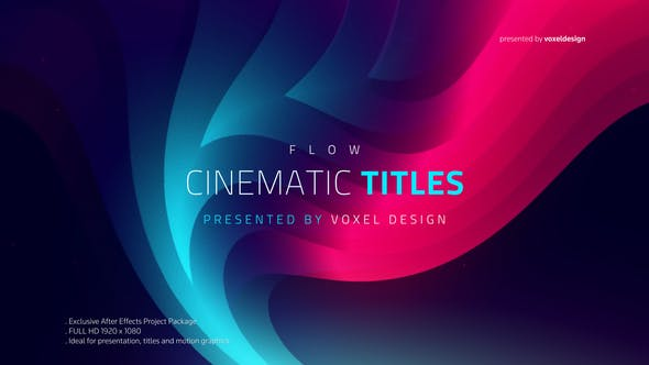 Thumbnail for FLOW - Cinematic Titles