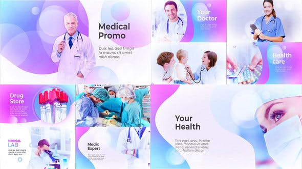 Thumbnail for Medical Presentation - Medicine Promo