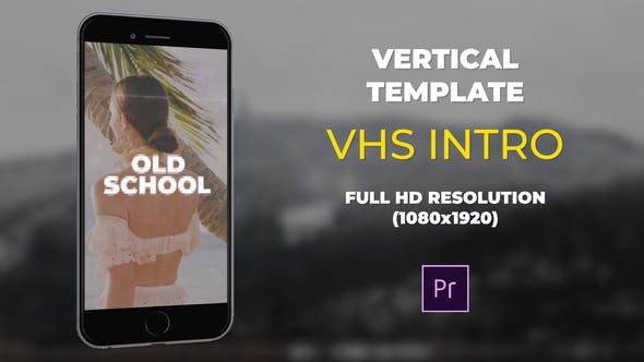 Vertical VHS Intro