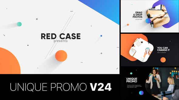 Thumbnail for Unique Promo v24 | Corporate Presentation