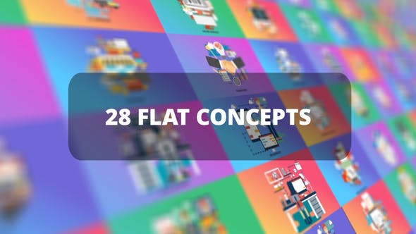 Thumbnail for Bundle Business Flat Concepts